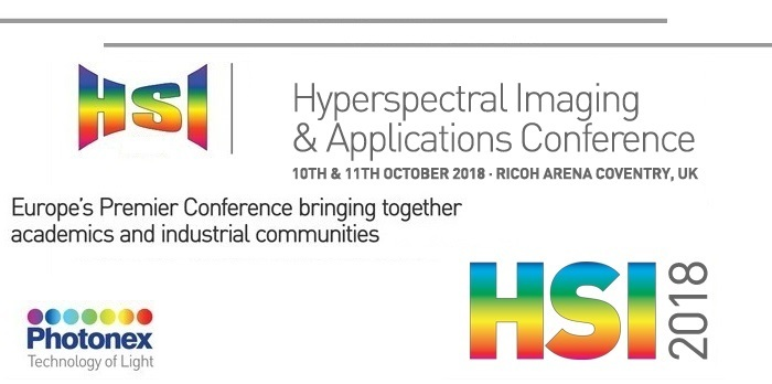 Photon Etc. will be at HSI 2018 in Coventry, UK